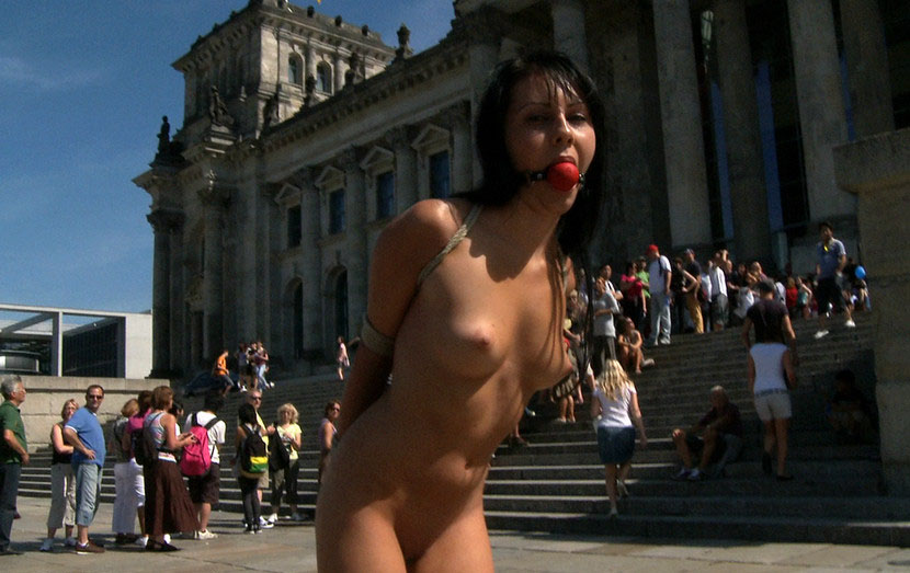 Public Nudity Humiliated By Women