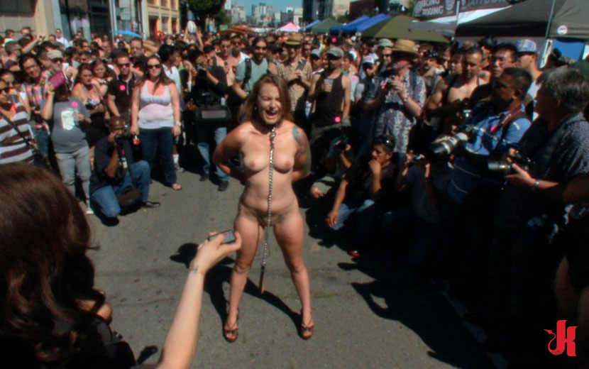 Public nudity humiliation video #8