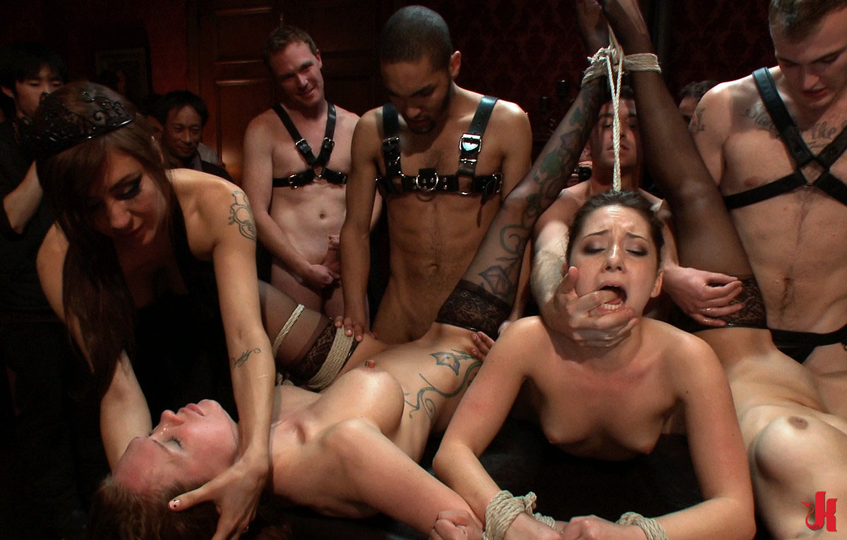 Rough Gangbang Sex Slave